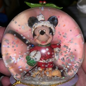 Mickey Mouse-Cristal Water Ball Holiday celebratio